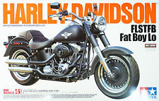 Tamiya 16041 Harley Davidson FLSTFB Fat Boy Lo 1/6 scale kit