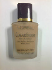 L'Oreal COLOUR ENDURE STAY ON MAKEUP LIQUID FOUNDATION ( PALE ) NEW