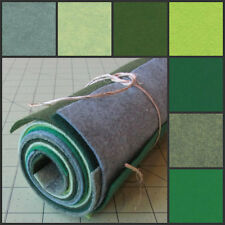 12x12 Wool Felt Sheets - Irish luck Collection - 7 Sheets of Merino Felt