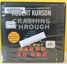 CRASHING THROUGH  -Robert Kurson -  CD ABRIDGED ~ FREE SHIP