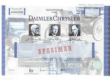 Daimler Chrysler AG Stuttgart   Giesecke & Devrient Specimen