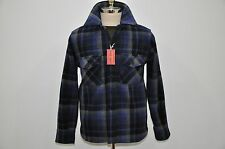 The Real McCoy's Joe McCoy 100% Heavy Wool Plaid CPO Shirt M