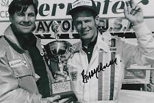 Bobby Unser Hand Signed 12x8 Photo Indy 500 Legend.
