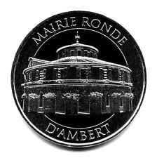 63 AMBERT Mairie ronde, Couleur argent, 2016, Monnaie de Paris