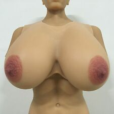 IVITA 9.5KG High-Quality Large Silicone Breast Forms Drag Queen Huge Soft Boobs