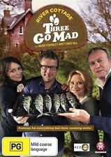 River Cottage - Three Go Mad (DVD, 2013) - Region 0