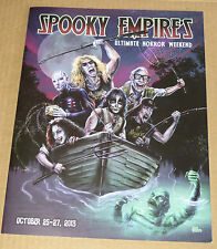 KISS PETER CRISS SPOOKY EMPIRE COLLECTOR'S BOOK