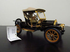 Franklin Mint 1910 Cadillac Model Thirty Roadster, 1:24 Scale