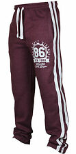 New Mens Tracksuit Bottoms Fleece Trackies Gym Jogging Joggers Warm Sweat Pants