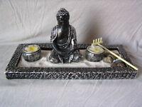 """Deko-Set """"Zen-Garten"""", Buddha, Feng Shui Dekoration"""