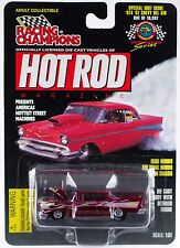 Racing Champions Hot Rod Magazine Drag Racing Series '57 Chevy Bel Air MOC 1997