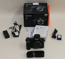 BNIB SONY Alpha A7ii Mirrorless 35mm Full-Frame Digital Camera DSLR Body