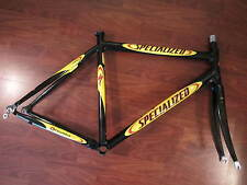 SPECIALIZED E5 SL X MAX RACING BIKE FRAME SET WITH MATCHING C3 CARBON FORK 56 CM