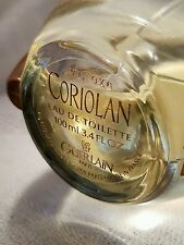 """""""Coriolan""""by Guerlain-Eau de Toilette Spray 3.4/ 100ml-Rare Discontinued 45/50 %"""