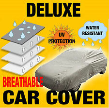 SMALL BREATHABLE WATER RESISTANT FULL CAR COVER SIZE S RAIN SUN SNOW DUST