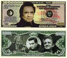 Johnny Cash Million Dollar Novelty Money