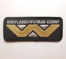 ALIEN MOVIE WEYLAND-YUTANI CORPORATION CORP LOGO COSTUME UNIFORM VELCRO PATCH