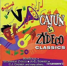 Cajun & Zydeco Classics by Various Artists (CD, Aug-1997, Flashback Records)