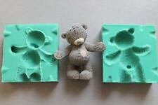 Silicone Mould 3D ME TO YOU BEAR Sugarcraft Cake Decorating Fondant / fimo mold
