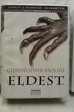 Eldest by Christopher Paolini: Unabridged Cassette Audiobook (SS3)