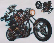 Aufkleber Decal Sticker Ax Clown on Chopper  Harley  Biker Helm Tank MC Laptop