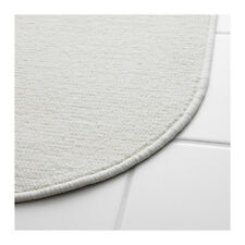 "IKEA NACKTEN New And Modern Bathmat White Color Size 17"" x 26"" Free Shipping !"