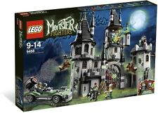 NEW Retired LEGO Monster Fighters Halloween 9468 Vampyre Castle Building Set