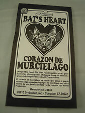 Bats Heart Talisman Spell Supplies Spells charm bag luck herb Protection mojo