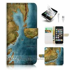 iPhone 5 5S Flip Wallet Case Cover! P1003 Game Map