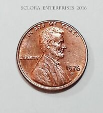 1976 D Lincoln Memorial Cent / Penny  **FREE SHIPPING**