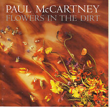 PAUL McCARTNEY - Flowers in the Dirt NM 1989 Capitol USA Dave Gilmour Bob Ludwig