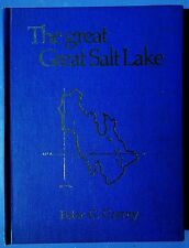 1976 The Great Salt Lake by Peter G Czerny - 1st Edition Signed & Numbered - BYU