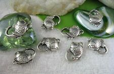20PCS Tibetan Silver Fish Lobster Clasps Clasp15 for jewelry making