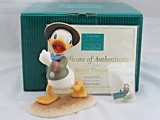 "WDCC ""Happy Camper"" Donald Duck from Disney's Good Scouts in Box with COA, Pin"