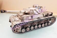 Imex Taigen 1/16th RC Tank Panzer IV Arctic Camo Airsoft FREE US SHIP (LR48)