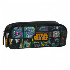Star Wars Doble Lápiz Funda Yoda Darth Vader Stormtrooper Chewbacca