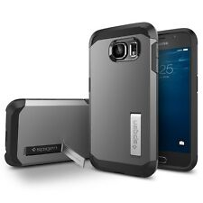 Spigen Galaxy S6 Funda Tough Armor Gunmetal