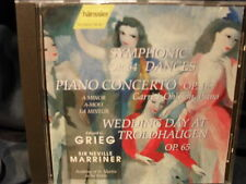 Grieg - Symphonic Op.64/Piano Concerto/Wedding Day At T.  - Sir Neville Marriner