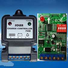 10A Gel Battery Solar Charge Controller / Regulator 6v/12v/24v Solar Controller