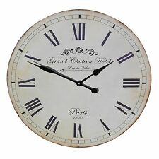 French Style Large 60cm Grand Chateau Hotel Wall Clock