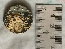 Swiss Made Omega 1345 Quartz Movement BAD CONDITION for Parts Use