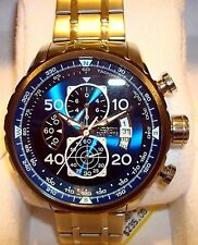 NEW Invicta 22970 Men's Aviator Blue Dial Watch, Stainless Steel