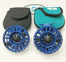 Tibor Signature Series 9-10 Fly Fishing Reel + Spare Spool - Very Good Condition