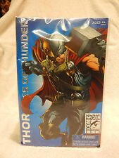 SAN DIEGO COMIC CON SDCC 2010 THOR AGES OF THUNDER SEALED