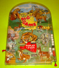 MARX CO. Company Vintage Pinball Game Machine The Big Game Bagatelle 50s 60s 70s