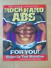 ROCK HARD ABS FOR YOU! bodybuilding muscle fitness book by Robert Kennedy