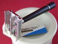 VINTAGE SCHICK KRONA DOUBLE EDGE SAFETY RAZOR w/ NEW BLADE