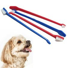 FD1111 Dual End Cat Dog Puppy Toothbrush Dental Grooming Tooth Brush ~Random 1pc