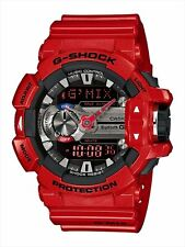 CASIO G-Shock GBA400-4A Bluetooth G'MIX Music Rotary Switch Smartphone RED