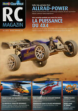 Prospekt D+F Revell RC Magazin Radio Control 1/10 2010 Helicopter Buggy Monster